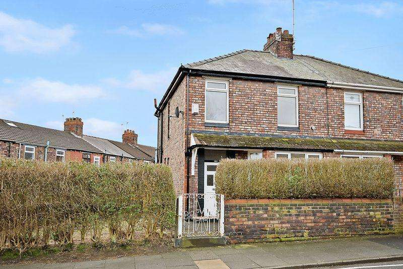 2 Bedrooms Semi Detached House for sale in Greenway Road, Widnes