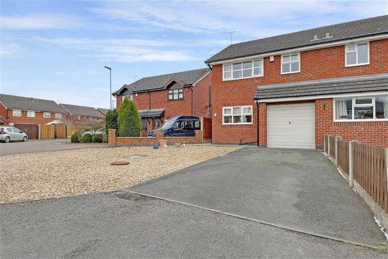 3 Bedrooms Semi Detached House for sale in Harrow Close, Wistaston, Crewe