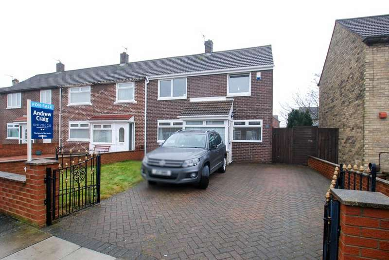 3 Bedrooms Semi Detached House for sale in Horton Avenue, South Shields