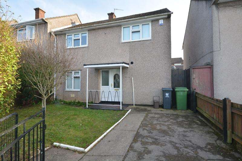 2 Bedrooms Semi Detached House for rent in Clevedon Road, Llanrumney, Cardiff, Cardiff. CF3