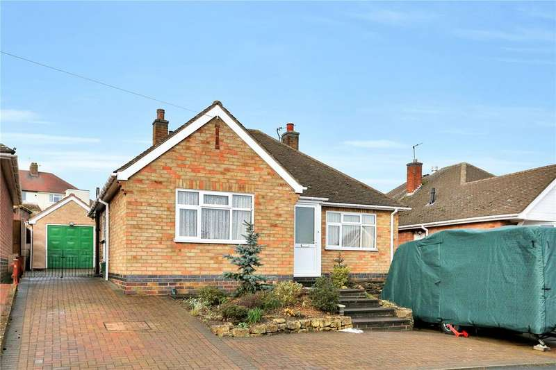 2 Bedrooms Detached Bungalow for sale in Abingdon Road, Melton Mowbray, Leicestershire