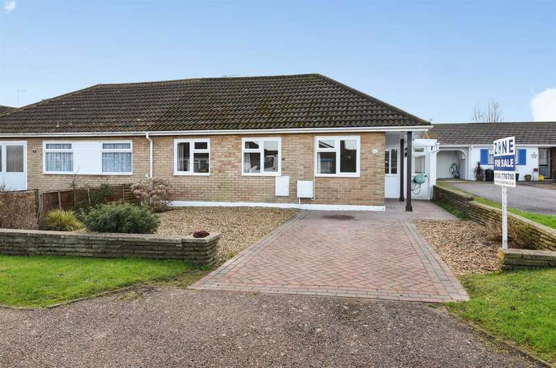 3 Bedrooms Semi Detached Bungalow for sale in North Bersted