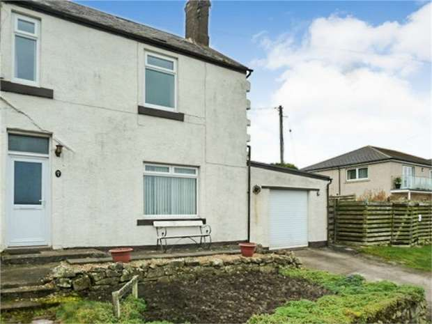 4 Bedrooms Semi Detached House for sale in Cow Road, Spittal, Berwick-upon-Tweed, Northumberland