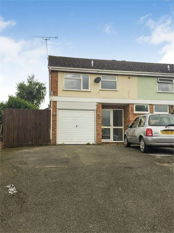 3 Bedrooms Semi Detached House for sale in Highwell Avenue, Bromyard, Herefordshire