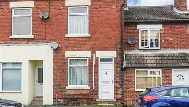 2 Bedrooms Terraced House for sale in Church Street, Church Gresley, Swadlincote, Derbyshire