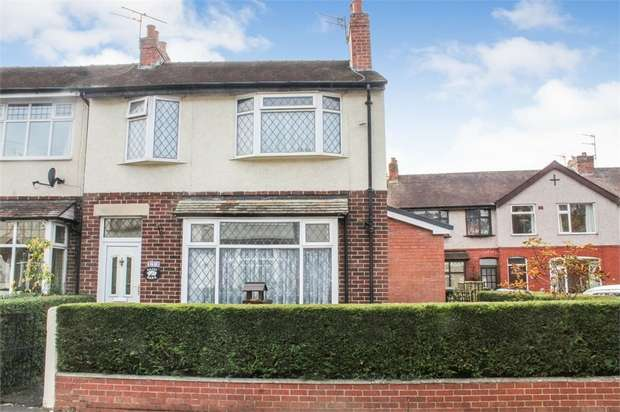 3 Bedrooms End Of Terrace House for sale in Fairfield Drive, Ashton-on-Ribble, Preston, Lancashire