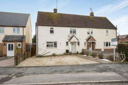 3 Bedrooms Semi Detached House for sale in Abbots Leys Road, Winchcombe, Cheltenham, Gloucestershire