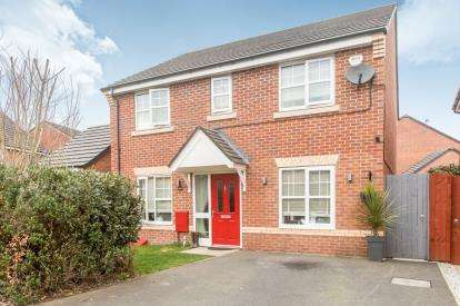 4 Bedrooms Detached House for sale in Roseway Avenue, Cadishead, Manchester, Greater Manchester