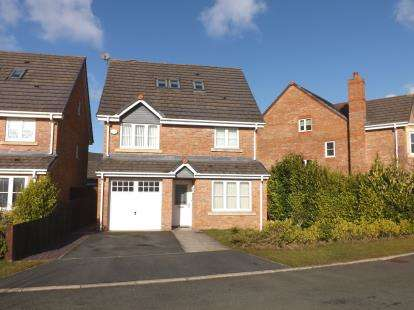 4 Bedrooms Detached House for sale in Buttercup Close, Warrington, Cheshire