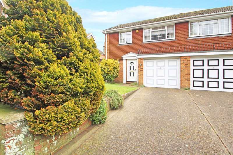 3 Bedrooms Semi Detached House for sale in Mill Road, Worthing, West Sussex, BN11