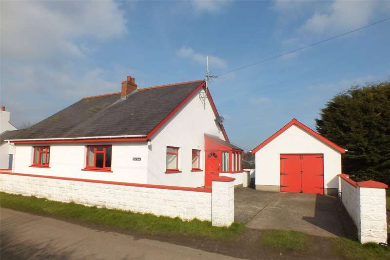 3 Bedrooms Bungalow for sale in Westwood, Cresselly, Kilgetty, Pembrokeshire