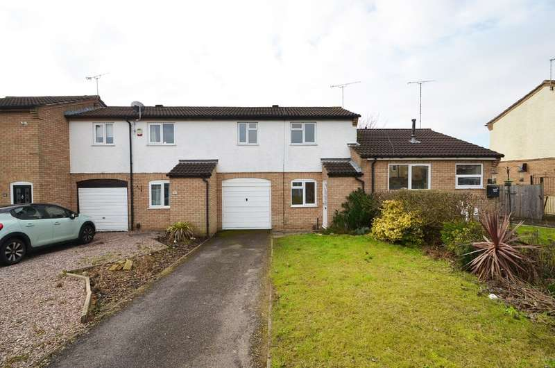 2 Bedrooms Terraced House for sale in Dunnerdale, Brownsover, Rugby