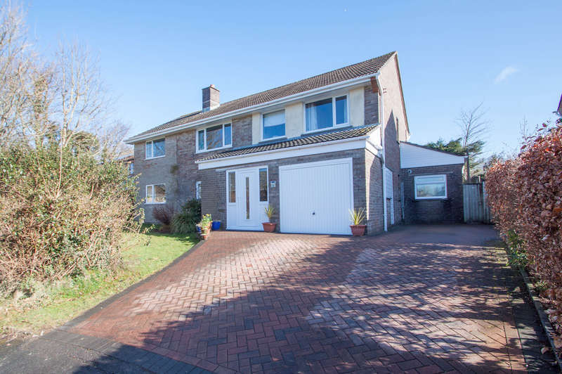 5 Bedrooms Detached House for sale in Widewell, Plymouth