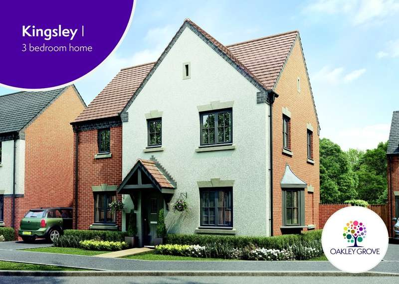3 Bedrooms Detached House for sale in Plot 89 Kingsley II Oakley Grove