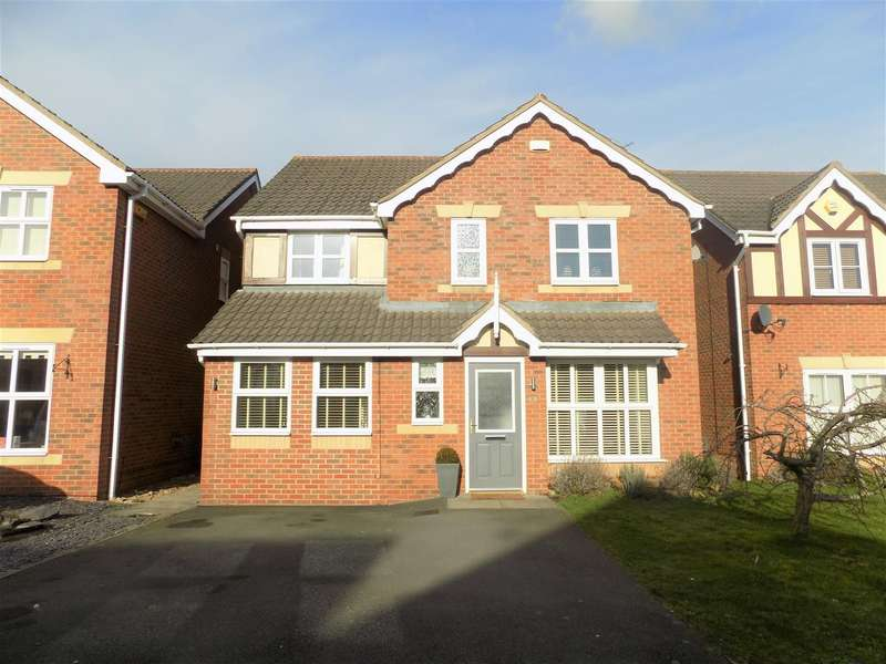 4 Bedrooms Property for sale in Sandpiper Close, Bingham, Nottingham