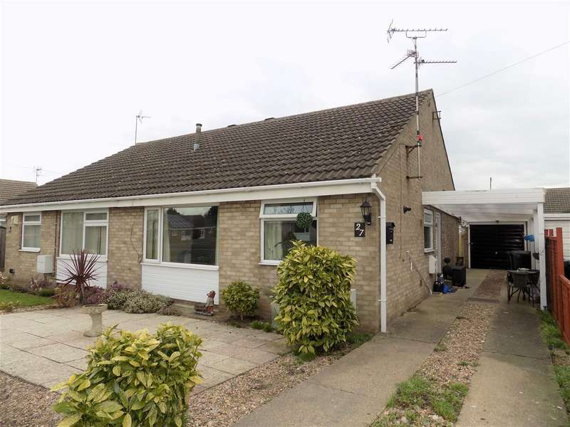 2 Bedrooms Bungalow for sale in Beverleys Avenue, Whatton, Nottingham