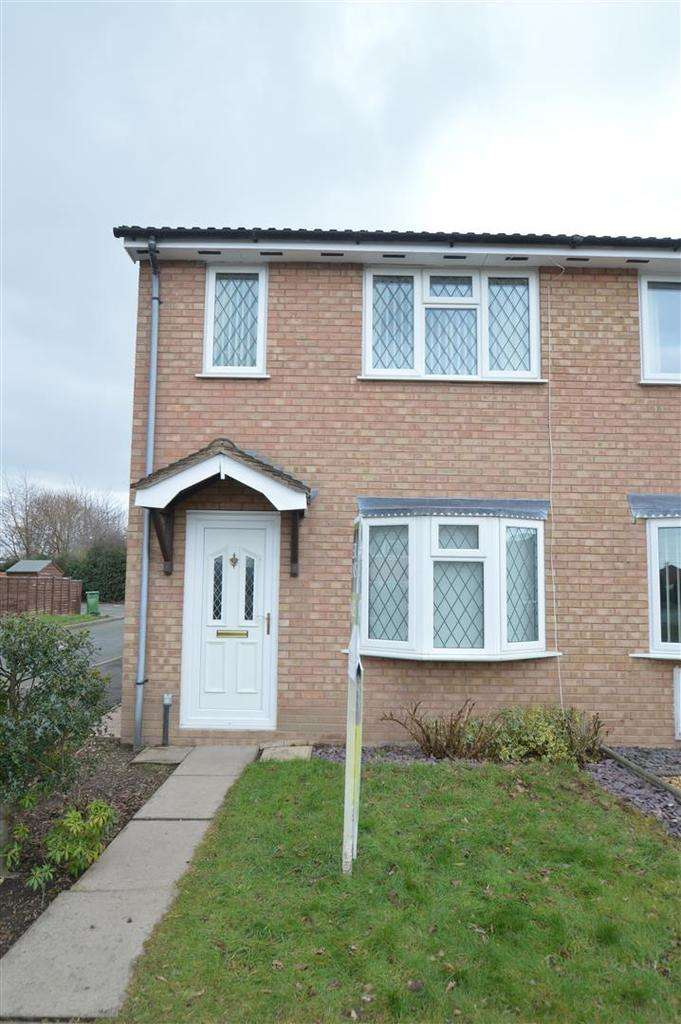 2 Bedrooms Terraced House for sale in 62 Shaw Road, The Chilterns, Shrewsbury SY2 5XR
