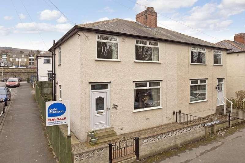 3 Bedrooms Semi Detached House for sale in Trafalgar Road, Ilkley