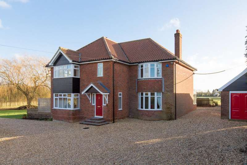 5 Bedrooms Detached House for sale in Norwich Road, Ashwellthorpe