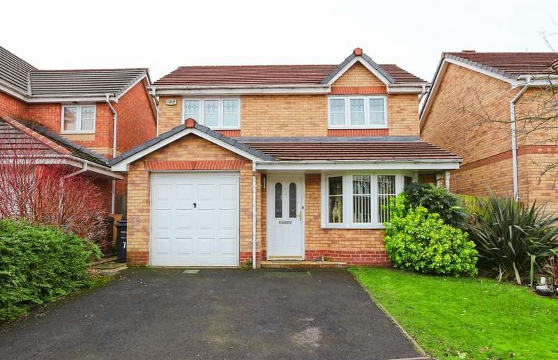 3 Bedrooms Detached House for sale in 7 Ferrymasters Way, Irlam