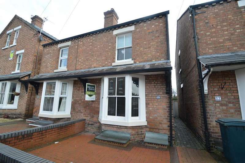 3 Bedrooms Semi Detached House for sale in 56 Percy Street, Greenfields, Shrewsbury SY1 2QG