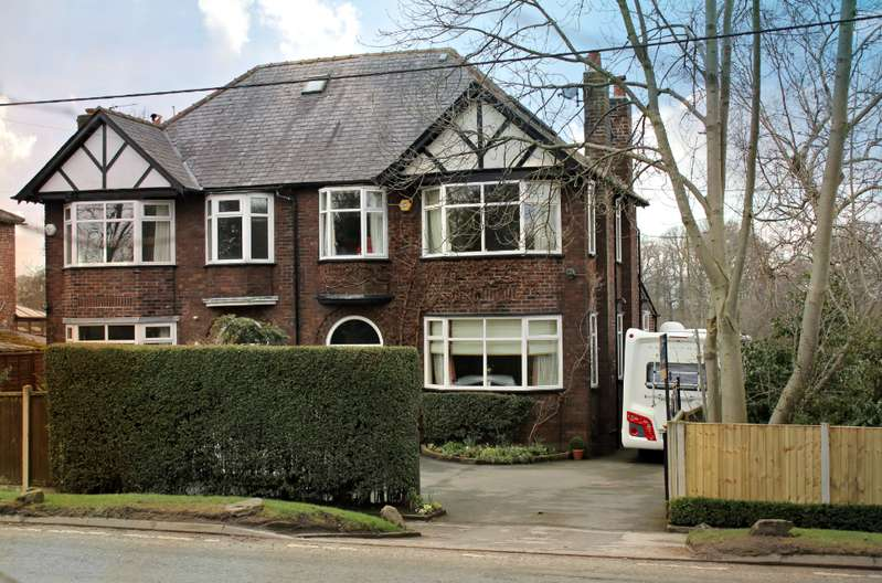 4 Bedrooms Semi Detached House for sale in POYNTON ( LONDON ROAD NORTH )