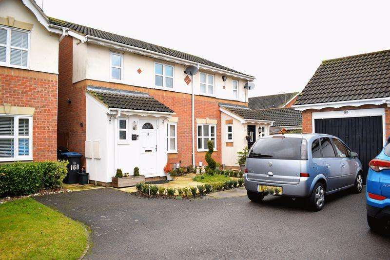 3 Bedrooms Semi Detached House for sale in Challinor, Church Langley
