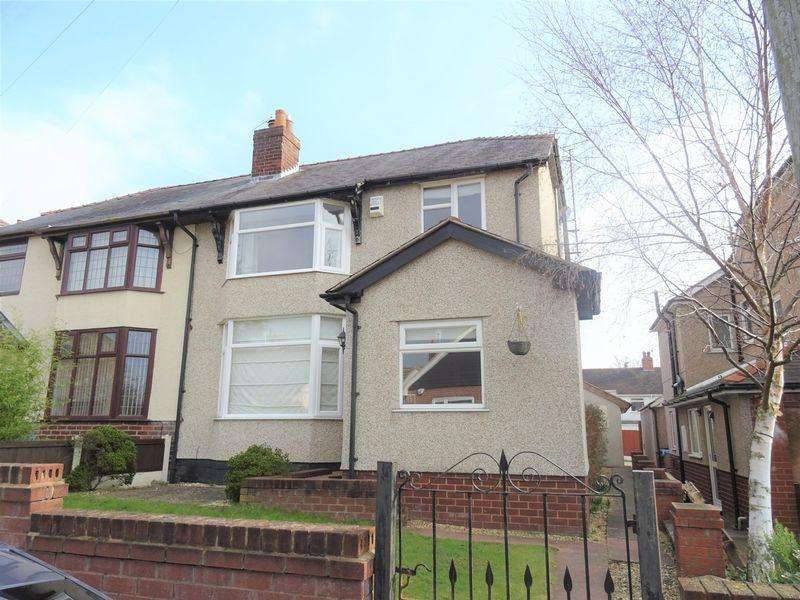 4 Bedrooms Semi Detached House for sale in Eneurys Road, Wrexham