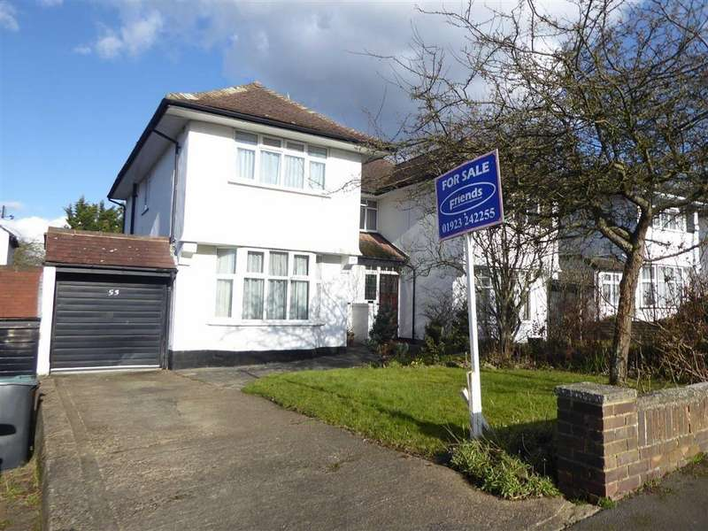 3 Bedrooms Semi Detached House for sale in Oxhey Hall