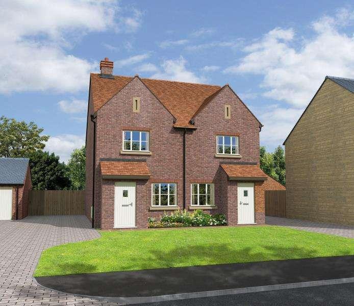 2 Bedrooms Semi Detached House for sale in Kensington, Hanborough Gate, Long Hanborough, Witney, Oxfordshire