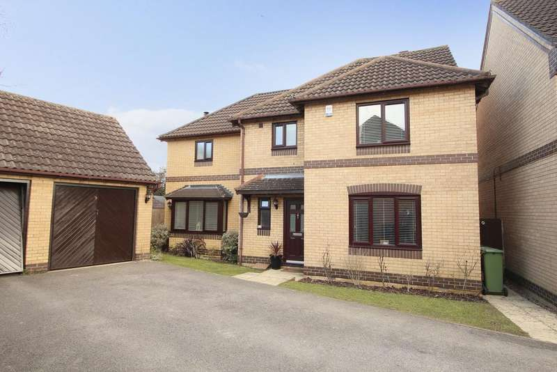 4 Bedrooms Detached House for sale in Giles Close, Grange Park SO30