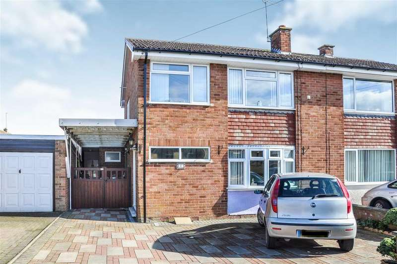 3 Bedrooms Semi Detached House for sale in Dadglow Road, Bishops Itchington, Southam