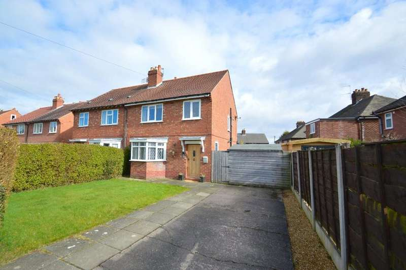 3 Bedrooms Semi Detached House for sale in Woodlands Drive, Knutsford