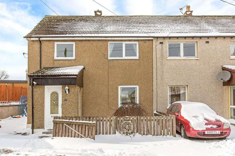 3 Bedrooms Semi Detached House for sale in 5 Hillwood Gardens, Ratho Station, Newbridge, EH28
