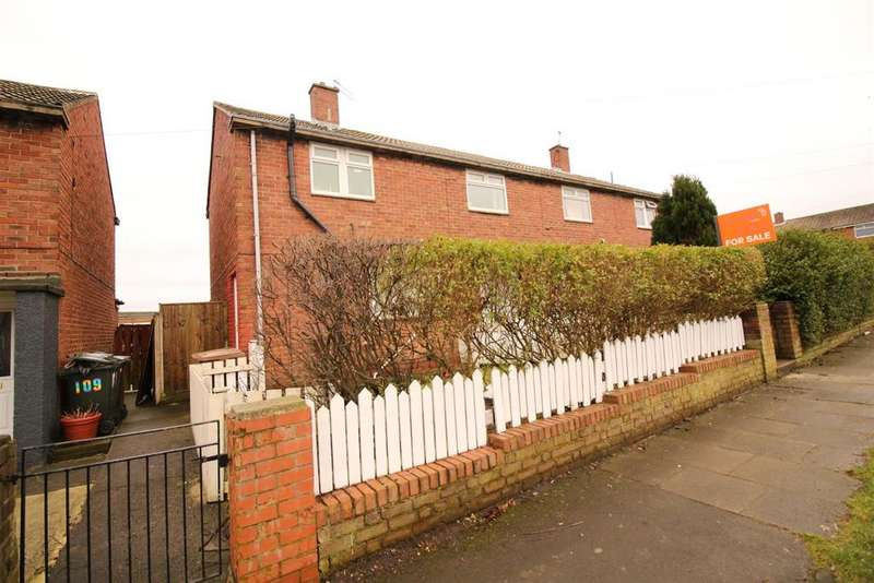 3 Bedrooms Semi Detached House for sale in Tiverton Avenue, North Shields