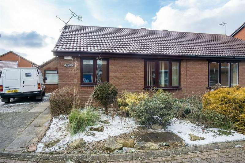 3 Bedrooms Semi Detached Bungalow for sale in Robert Close, WITHERNSEA, East Riding of Yorkshire
