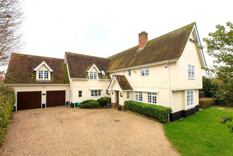 5 Bedrooms Detached House for sale in Great Tey