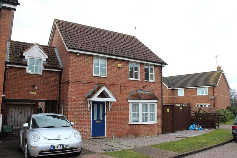 4 Bedrooms Link Detached House for sale in Farmhouse Drive, Deeping St Nicholas, Spalding, PE11