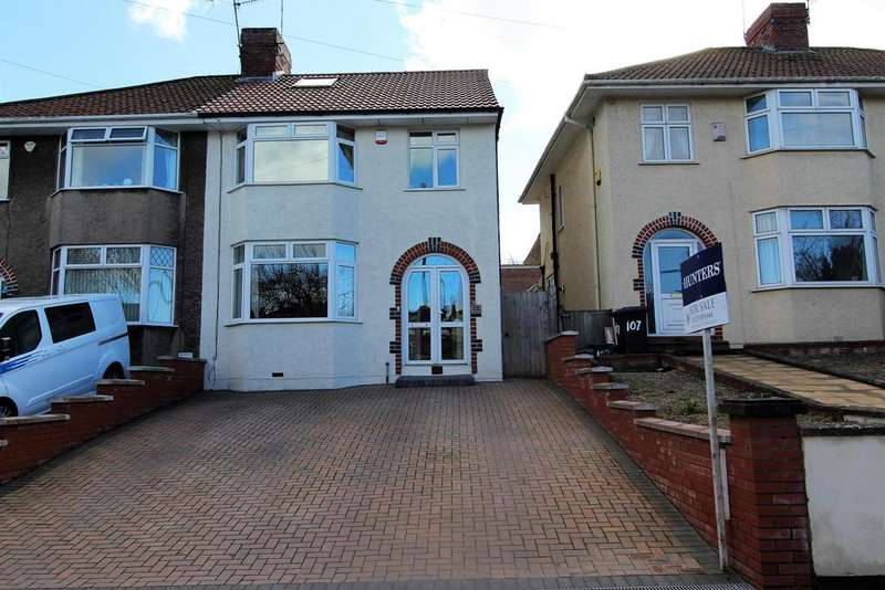 4 Bedrooms Semi Detached House for sale in Airport Road, Hengrove, Bristol, BS14 9TD