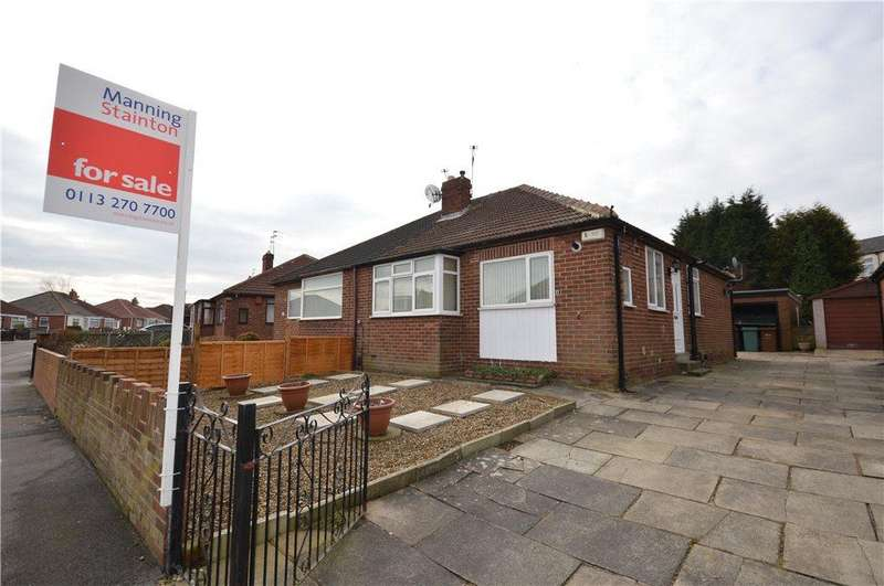 2 Bedrooms Semi Detached Bungalow for sale in Staithe Avenue, Leeds, West Yorkshire