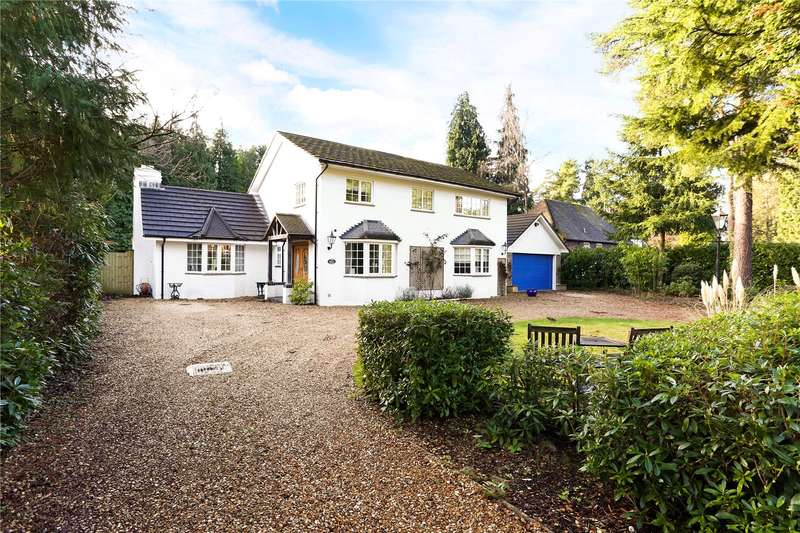 4 Bedrooms Detached House for sale in Glebe Lane, Rushmoor, Farnham, Surrey, GU10