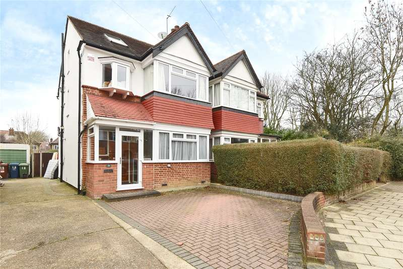 5 Bedrooms Semi Detached House for sale in Newlyn Gardens, Harrow, Middlesex, HA2