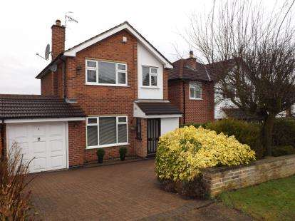 3 Bedrooms Detached House for sale in Greythorn Drive, West Bridgford, Nottingham, Nottinghamshire