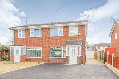 3 Bedrooms Semi Detached House for sale in Spencer Close, Wistaston, Crewe, Cheshire
