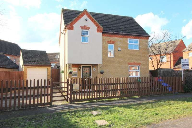 3 Bedrooms Detached House for sale in Meadhook Drive, Barton Le Clay, Bedfordshire, MK45 4RH