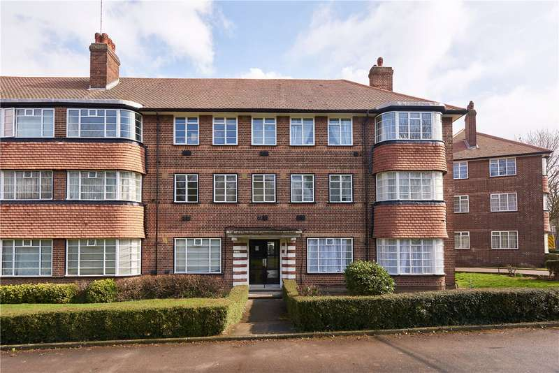 2 Bedrooms Flat for sale in Hill Court, Hanger Lane, London, W5