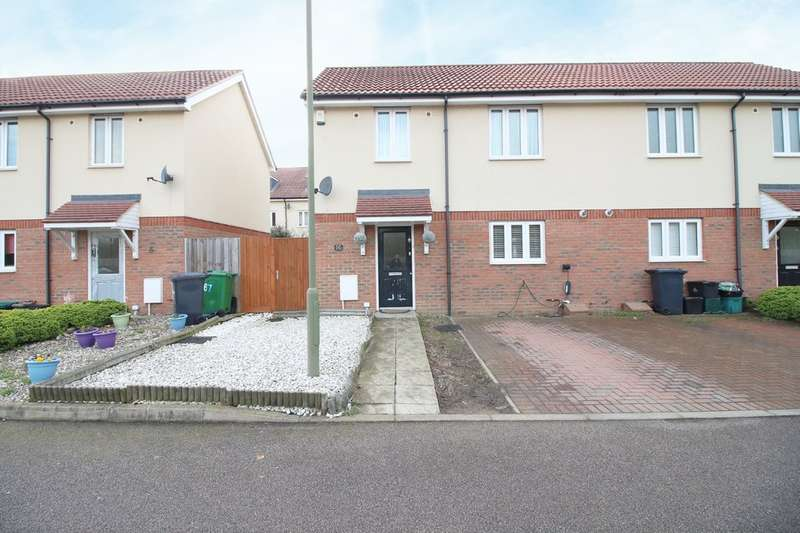 2 Bedrooms Semi Detached House for sale in Sorbus Road, Broxbourne
