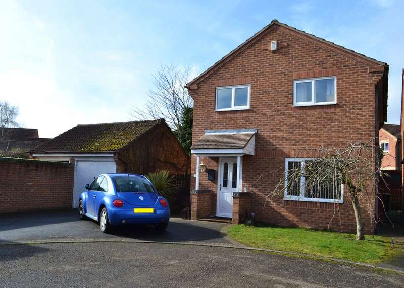 4 Bedrooms Detached House for sale in Farndon, Orchid Drive NG24