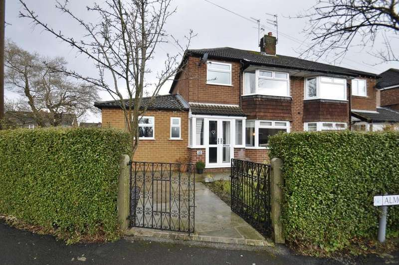 3 Bedrooms Semi Detached House for sale in Almond Tree Road, Cheadle Hulme
