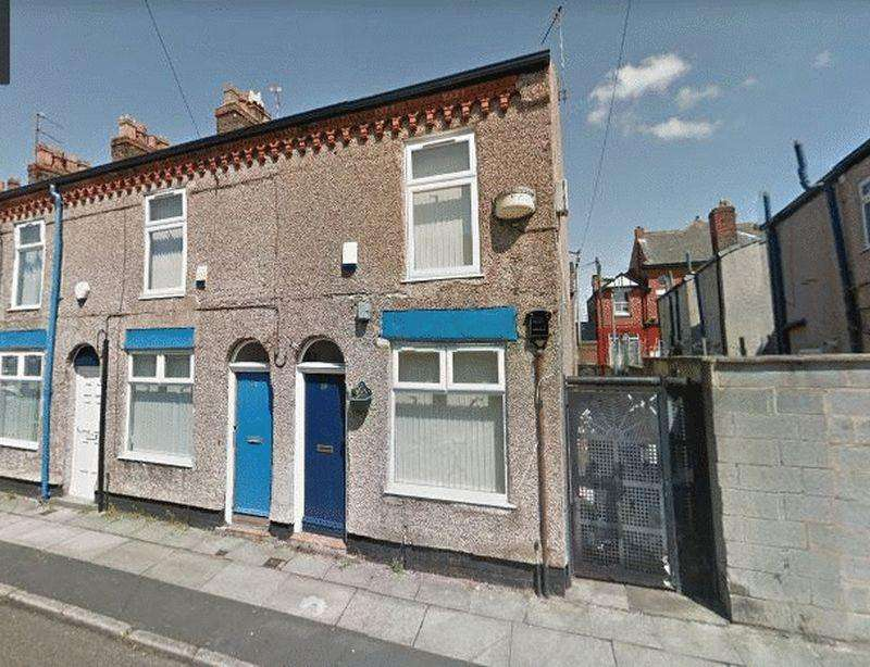 2 Bedrooms End Of Terrace House for sale in 89 Tudor Street, Liverpool